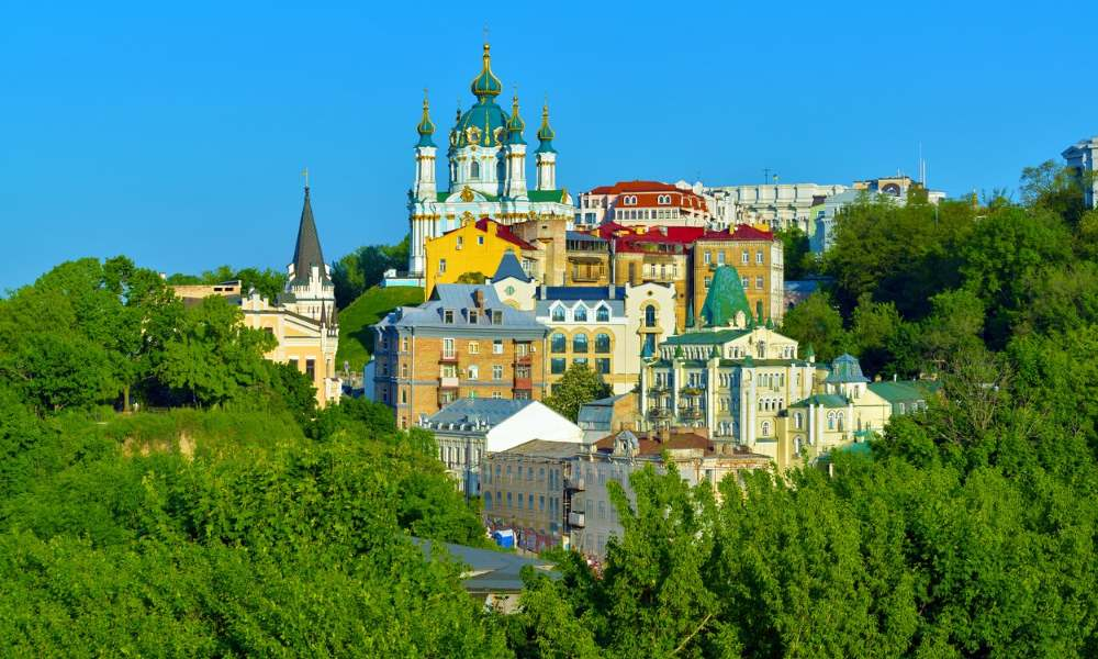 Kiev City The Capital Of Ukraine Tourist Attractions And Things - Where is kiev